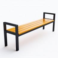 Ławki parkowe Modern bez oparcia kod: 0115