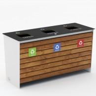 Pojemniki do segregacji odpadów Loara kod: 1202