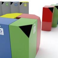 Pojemniki do segregacji odpadów Qube