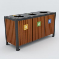 Pojemniki do segregacji odpadów Modern kod: 1203