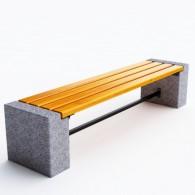 Ławki betonowe Efekt kod: 0126A