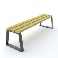Ławki parkowe z tworzywa sztucznego Novara kod: 0157 TS